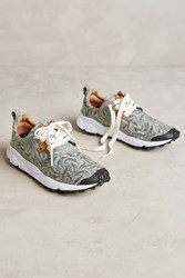 Anthropologie Flower Mountain Willow Bough Sneakers Blue