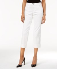 Styleandco. Style Co. Petite Curvy Fit Capri Jeans Only At Macy's Bright White