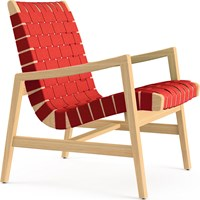 Knoll Risom Lounge Chair With Arms