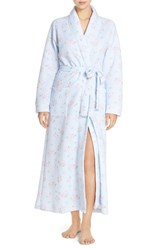 Carole Hochman Women's Designs Quilted Floral Robe