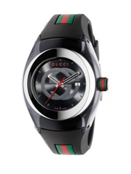 Gucci Sync Stainless Steel Watch White Blue