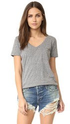 Sol Angeles Sol Essential Torque Tee Heather