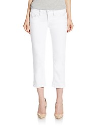 Vigoss Cropped Jeans White