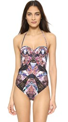 Beach Riot Diamond Back Collection Moonshine One Piece Multi