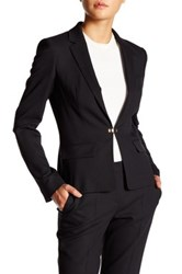 Hugo Boss Jofena Wool Blend Blazer Black