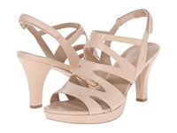 Naturalizer Pressley Taupe Leather High Heels