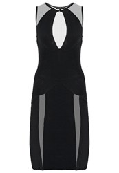 Elisabetta Franchi Cocktail Dress Party Dress Nero Black
