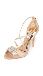 Badgley Mischka Gala Sandals Latte