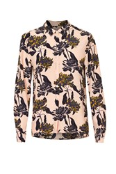 Soaked In Luxury Floral Shirt Multi Coloured