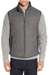 Corneliani Men's Reversible Wool Blend Vest Grey