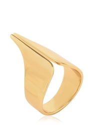 Set Of 4 Gold Plated Rings