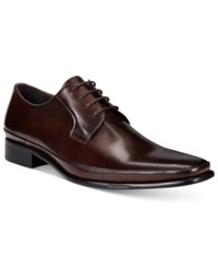 Kenneth Cole New York Men's Steep Hill Oxfords Men's Shoes Brown
