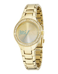 Just Cavalli Wrist Watches Gold