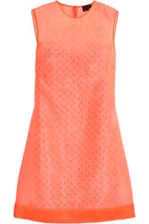 Fendi Organza Dress Orange