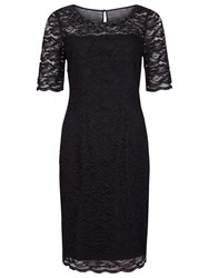 Precis Petite Embellished Lace Dress Black