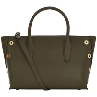 Jaeger Churchill Leather Tote Bag Green