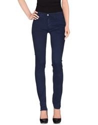 Fifty Four Trousers Casual Trousers Women Dark Blue