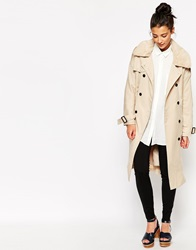 The Whitepepper Classic Duster Coat Beige