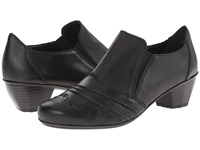 Rieker 41730 Black Cristallo Black Fino Women's Slip On Dress Shoes