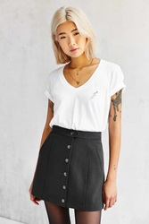 Truly Madly Deeply On Tour V Neck Tee Ivory