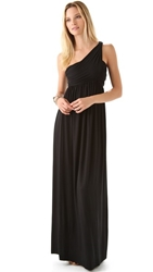 Rachel Pally Twist One Shoulder Dress Black