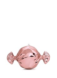 Judith Leiber 'Candy' Metallic Pill Box Pink Metallic