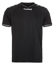Hummel Stay Authentic Poly Sports Shirt Black