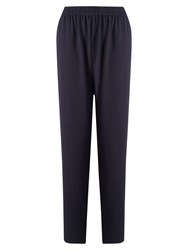 East Crepe Trousers Ink