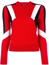 Neil Barrett 'Modernist' Jumper Red