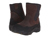 Merrell Polarand Rove Zip Waterproof Espresso Men's Lace Up Boots Brown