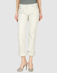 Jil Sander Navy Denim Pants Light Grey