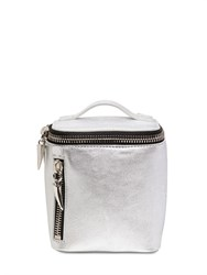 Giuseppe Zanotti Metallic Leather Backpack