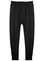 Wooyoungmi Black Wool Blend Jogging Trousers