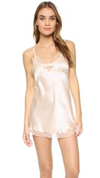 Only Hearts Club Silk Charmeuse Mini Slip Vintage Ivory