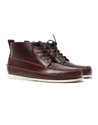 G.H. Bass And Co. Camp Mock Ranger Boot Dark Brown