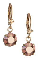 Liz Palacios Crystal Drop Earrings No Color
