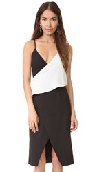 Finders Keepers Hold Us Dress Black White