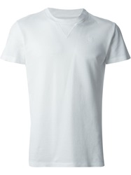 Hydrogen Round Neck T Shirt White