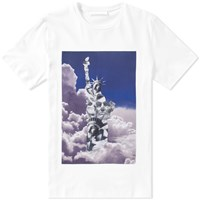 Neil Barrett Clouds Tee White