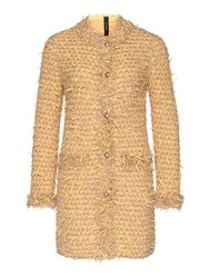 Marc Cain Long Textured Knit Jacket Multi