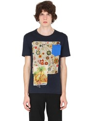 Bob Strollers Printed Patches Cotton Jersey T Shirt