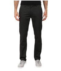 Brixton Reserve Chino Pant Charcoal Heather Men's Casual Pants Gray