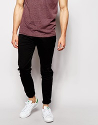Pullandbear Super Skinny Chino Black