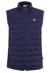 Lyle And Scott Owens Waistcoat Navy Blue