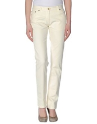 Fred Perry Casual Pants Ivory