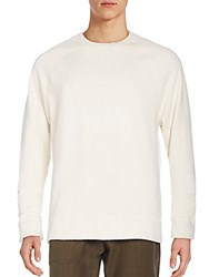 James Perse Raglan Sweatshirt Natural