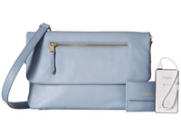 Knomo London Elektronista Digital Clutch Bag Lido Clutch Handbags Blue