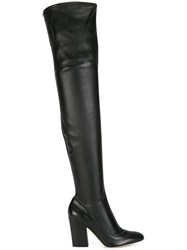 Sergio Rossi Thigh High Boots Black