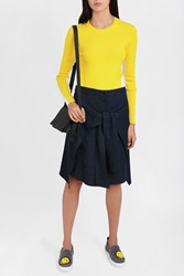 Rag And Bone Women S Cecilie Knitted Top Boutique1 Yellow