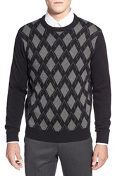 Men's Toscano Argyle Crewneck Sweater